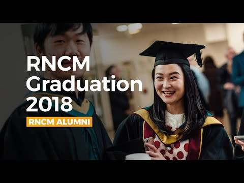 RNCM Congregation of Awards - 2018