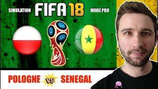 POLOGNE vs SENEGAL World Cup 2018 : QUI VA GAGNER sur FIFA 18 en MODE PRO ? PoulpEMB🦑