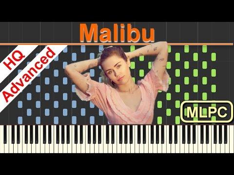 Miley Cyrus - Malibu I Piano Tutorial & Sheets by MLPC