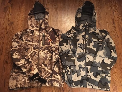 KUIU Yukon Jacket Vs. First Lite SEAK Stormtight Real World Review