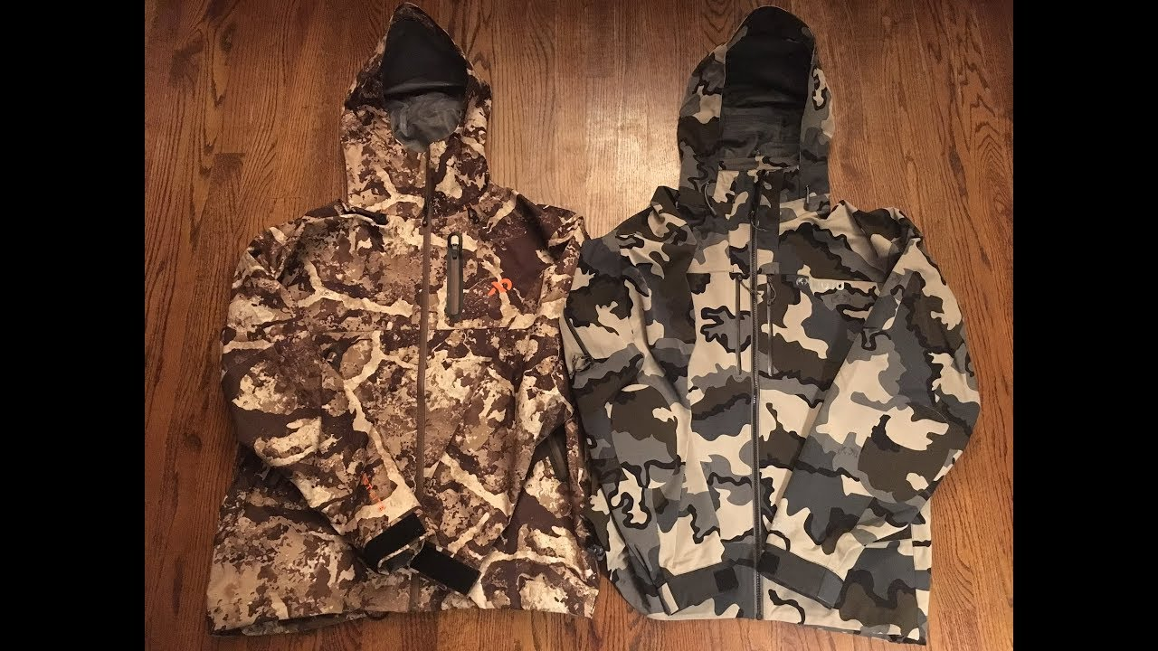 7361822e9ce71 KUIU Yukon Jacket vs. First Lite SEAK Stormtight Real World Review ...
