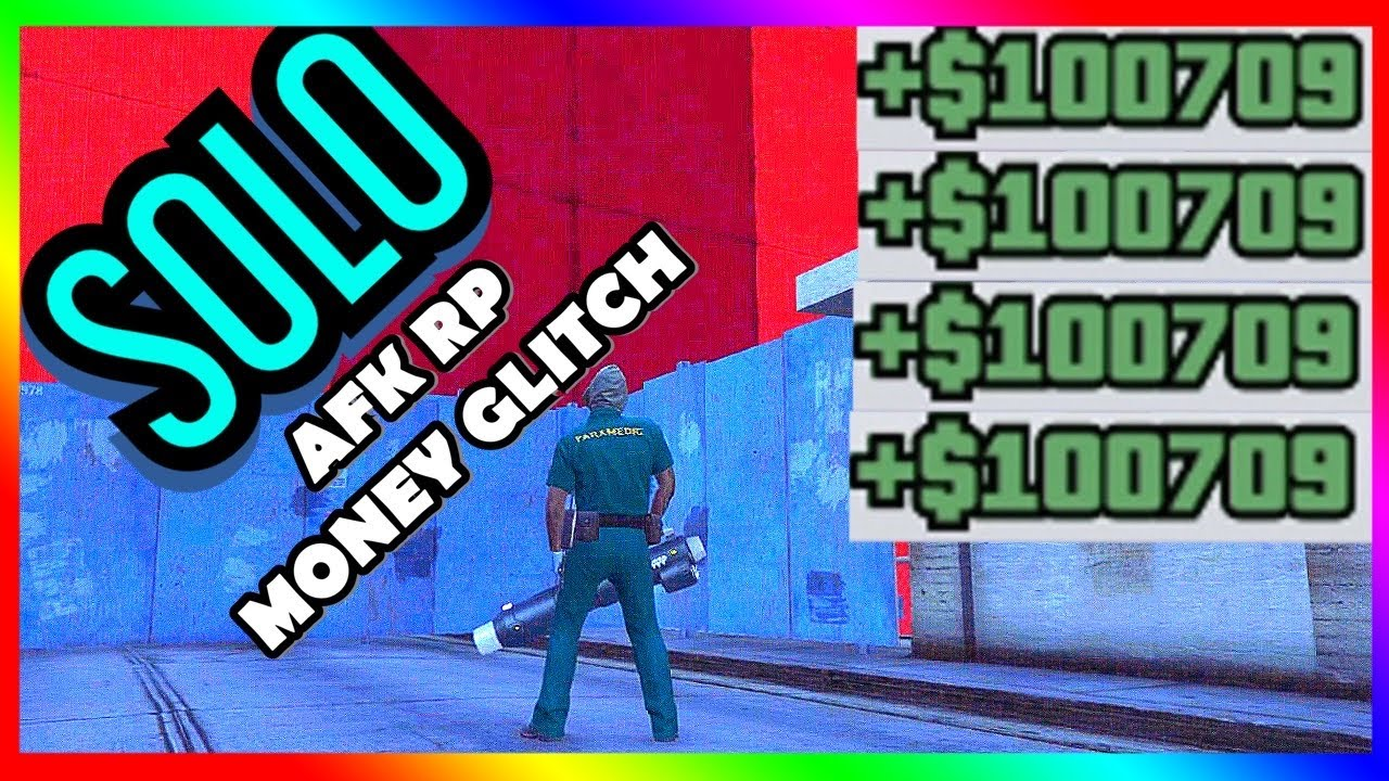 *WEEKLY* GTA 5 AFK SURVIVAL SOLO RP AND MONEY GLITCH THE ONLY GOOD AFK 2X Double Cash Rp Rewards
