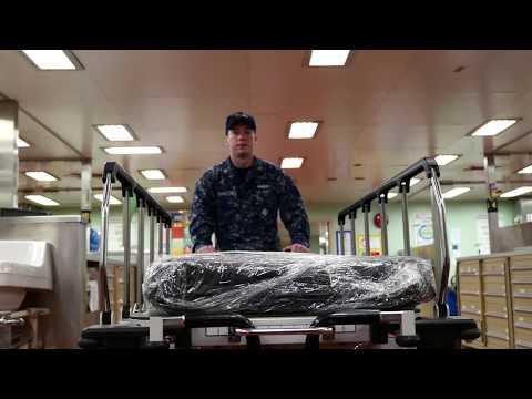 USNS Mercy: Tour A Navy Hospital Ship In 4K HD