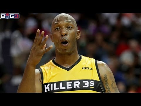 Chauncey Billups Season 1 Offense Highlights / BIG 3 / BIG 3 Basketball / Mr. Big Shot