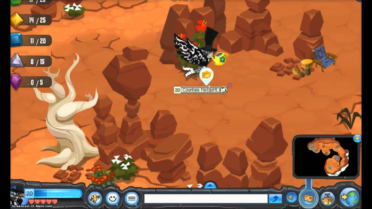 animal jam the forgotten desert how to get a spike