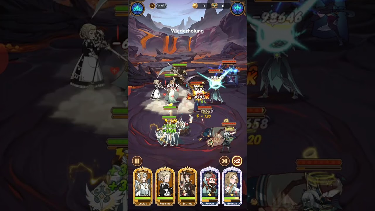 AFK Arena Stage 21-16 - YouTube