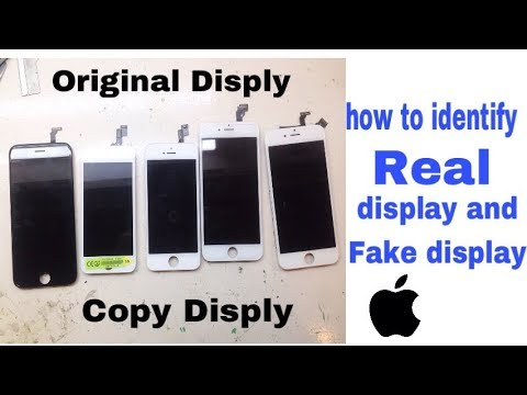 How To Identify IPhone Real Display And Fake Display