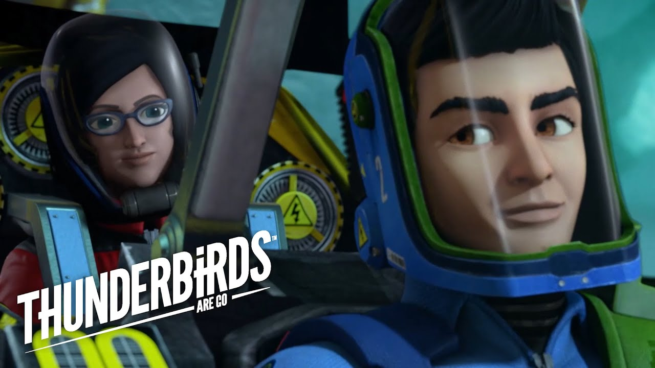 Thunderbirds Are Go Virgil Gets The First Reseacher Out Of The