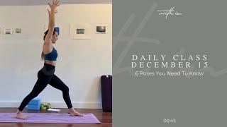 6 Postures You Should Know Part 1