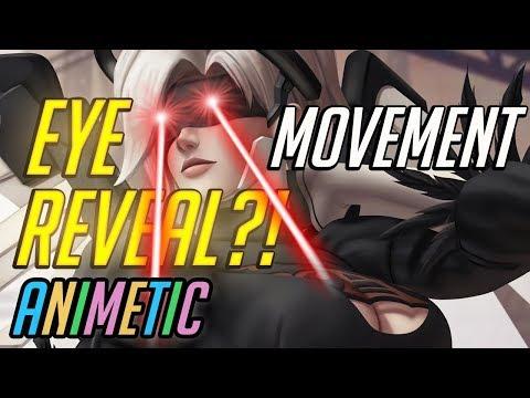 Animetic uses eye tracker - Overwatch