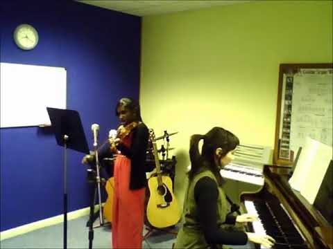 Violin   Aaraniya   Song For Sue   A to G Music School   Sutton   Teacher   Lessons