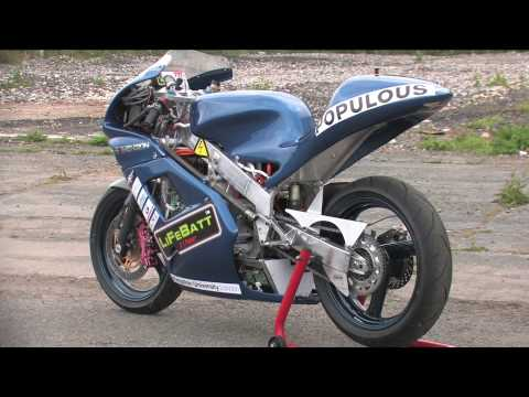 Kingston University Electric Motorcycle Diary no.31 Isle of Man TTXGP
