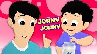 johny johny sí papa | canción de cuna | Johny Johny Yes Papa | cancion en español