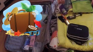 Собираю чемодан на море.Что в моём чемодане.