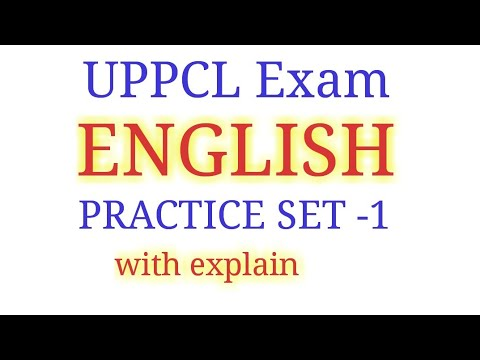 UPPCL || ENGLISH || PRACTICE SET-1 || FOR UPPCL AG-3 ,ARO, ALL question no 158(b) 159 (c) right hai