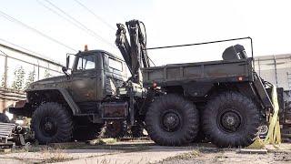 Урал 4320 МТП. Модернизация задней тележки. Часть первая.