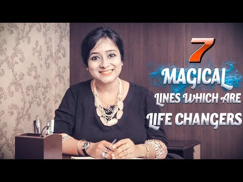7 Magical Lines Which Are Life Changers    My Positive Life    Ruheena Priyadarshini