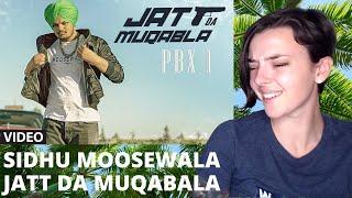 JATT DA MUQABALA Video Song | Sidhu Moosewala | REACTION! | Indi Rossi