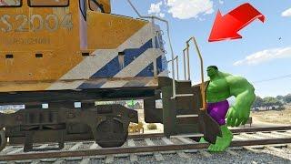 Al fin detengo el tren en GTA 5!! - GTA V EPICO (Grand Theft Auto 5)