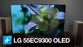 LG 55EC9300 - Up close with LG's 55-inch OLED TV