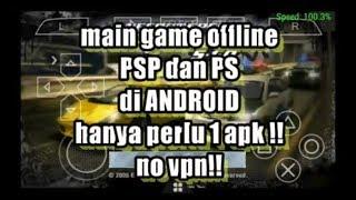 Install game PSP dan PS di Android