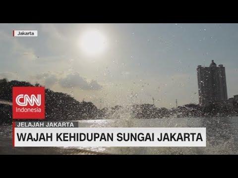 Menjelajah Wajah Kehidupan Sungai Jakarta