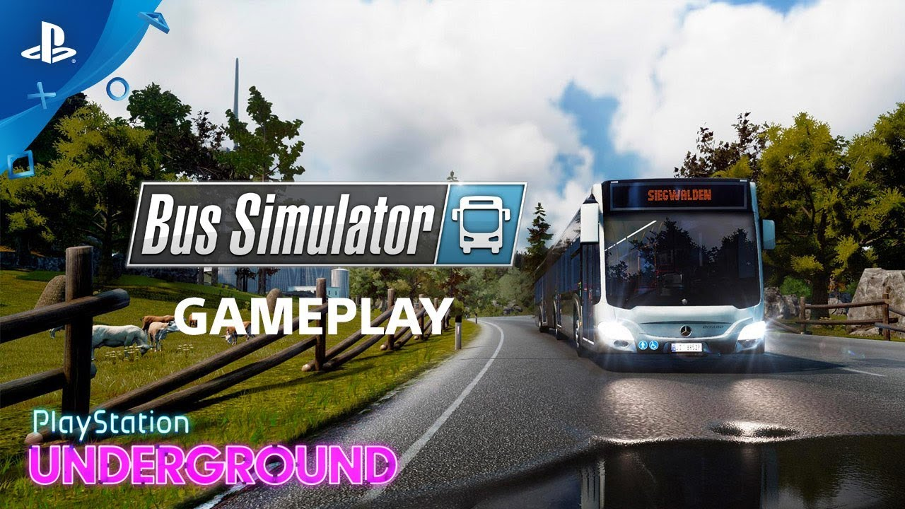 Bus Simulator - Gameplay | PlayStation Underground