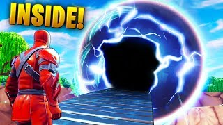 A Secret look *INSIDE* the Season 10 SPHERE..!!! | Fortnite Funny and Best Moments Ep.549