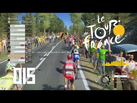 Tour de France 2016 [PS4] #015 - 15. Etappe Die Form stimmt [HD+] - Let's Play