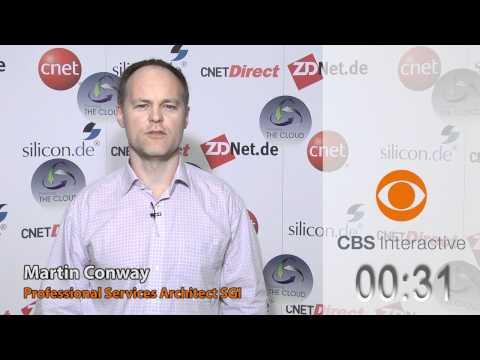 Martin Conway, SGI - ZDNet.de - CBS Interactive - One Minute Pitches