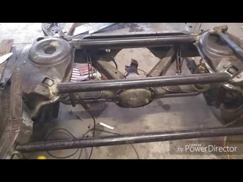 G body frame notch and support for mini tub malibu project part 3