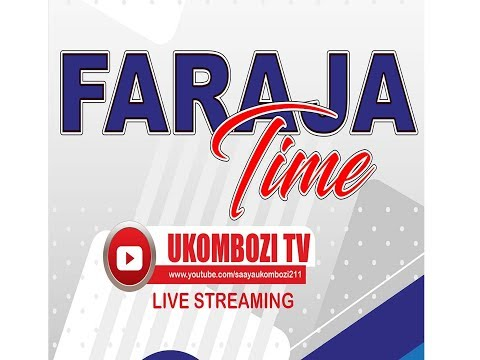 FARAJA TIME   UKOMBOZI FM RADIO  LIVE FROM MWANZA - TANZANIA