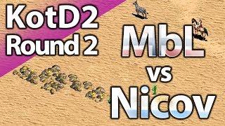 MbL vs Nicov   King Of The Desert 2   Round 2