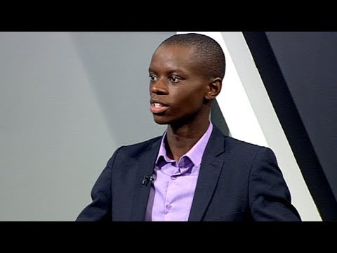 Young entrepreneur Maseko on his watch business