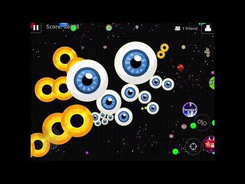Agario Mobile  Server Domination Pikachu & Spectre &Celtic 43
