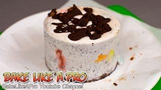 Mini Brownie Oreo Ice Cream Cake With M&ms Recipe
