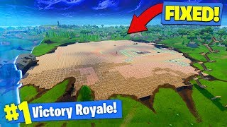 WE COVERED THE *ENTIRE CRATER* In Fortnite Battle Royale! thumbnail