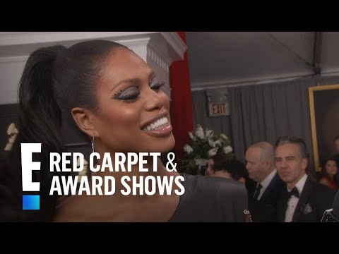 Laverne Cox Is So Excited to See Beyonce at 2017 Grammys | E! Red Carpet & Award Shows