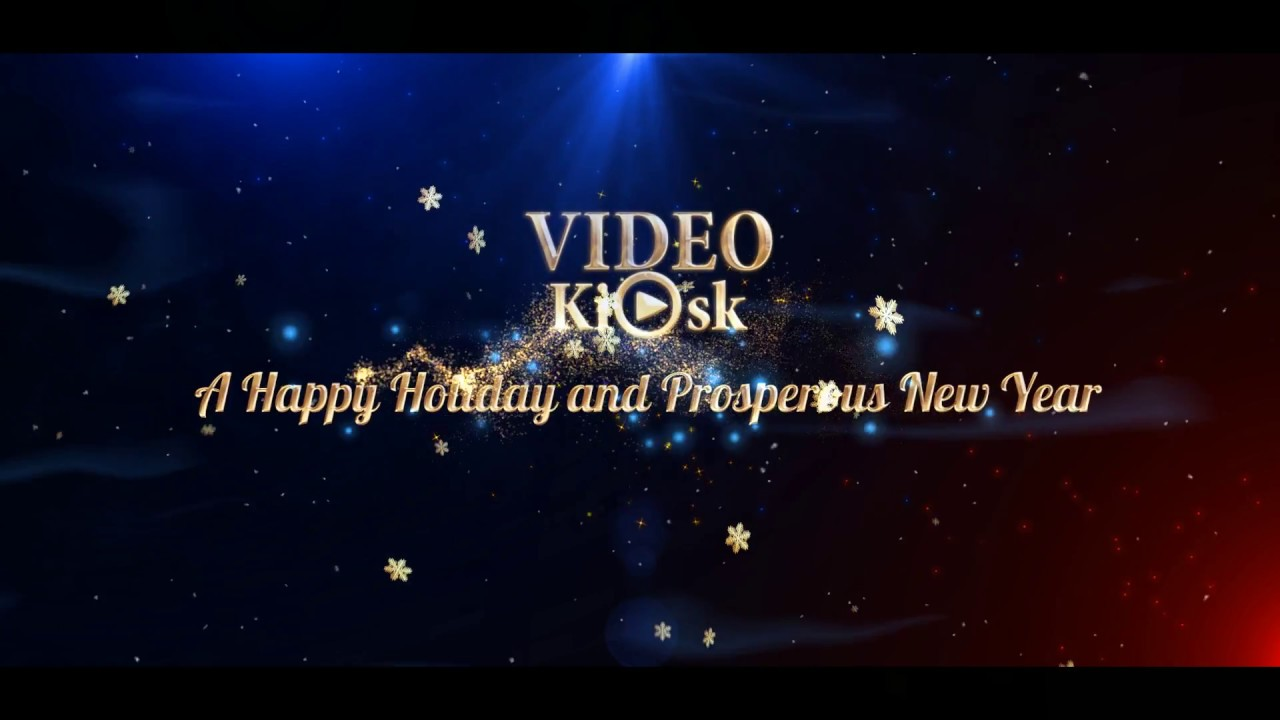 Happy New Year 2018 | Business Holiday Greetings Video Card - YouTube