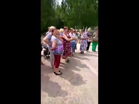 Сельский сход в Кощино (Смоленск) по поводу плохого качества воды 2019