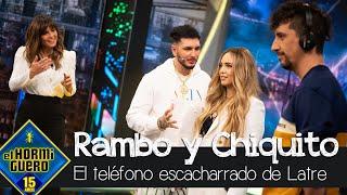 Rambo y Chiquito de la Calzada en 'El teléfono escacharrado de imitaciones' - El Hormiguero