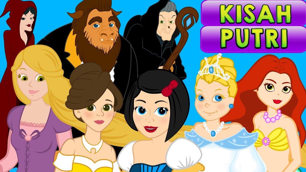 Download 7 Kisah Putri - Kartun Anak Cerita2 Dongeng Anak Bahasa Indonesia - Cerita Untuk Anak Anak