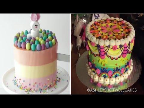 Amazing Cake Decorating Tutorial Compilation - The Most Satisfying Cake 2017 🍰🍰🍰