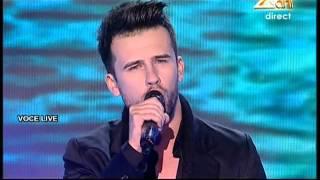 Florin Ristei - Mihaela Mihai - &quotDe-ai fi tu salcie la mal&quot - X Factor Romania, se ...