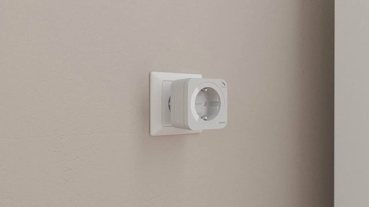 Devolo Home Control Schalt Und Messsteckdose