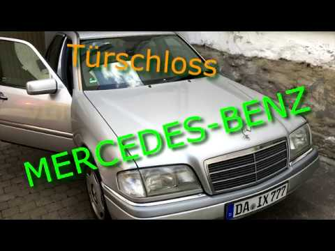 t rschloss klemmt bei mercedes benz c180 w202 reparieren. Black Bedroom Furniture Sets. Home Design Ideas