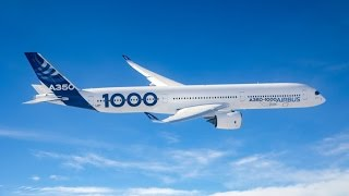 Airbus A350-1000 First Flight