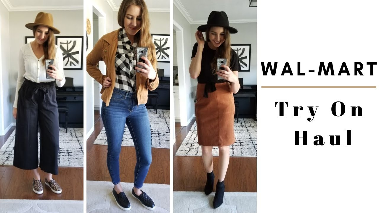 [VIDEO] - Walmart Outfits 2019 | Fall 2019 Walmart Try On Haul 2