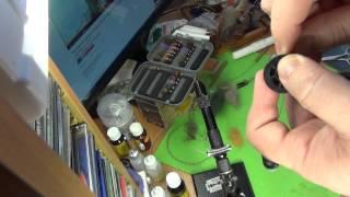 Как связать мушку УРОК 1 ( как добыть и крепить монтажную нить )