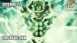 JoJo's Bizarre Adventure Season 1 Episode 22 Reaction